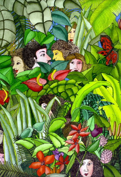 Tropical Journey - Men and Women in the Tropical Rainforest