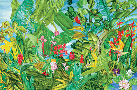 Tropical Impressions - Caribbean Landscape of Exotic Flora